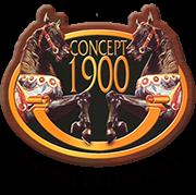 旋转木马-大型旋转木马-法国旋转木马制造商Concept1900