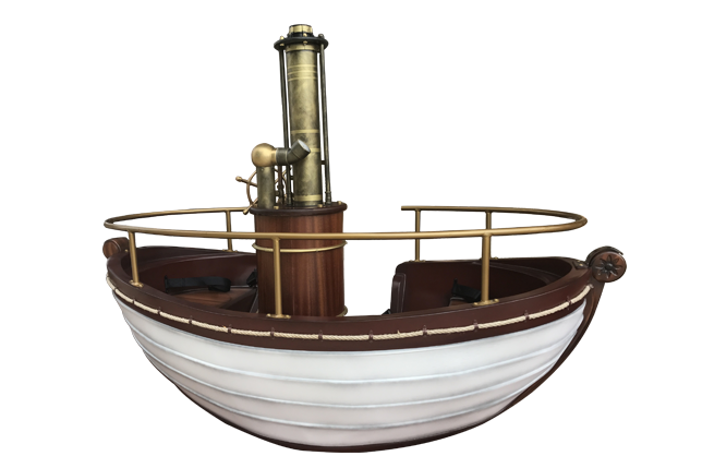 儒勒凡尔纳蒸汽船