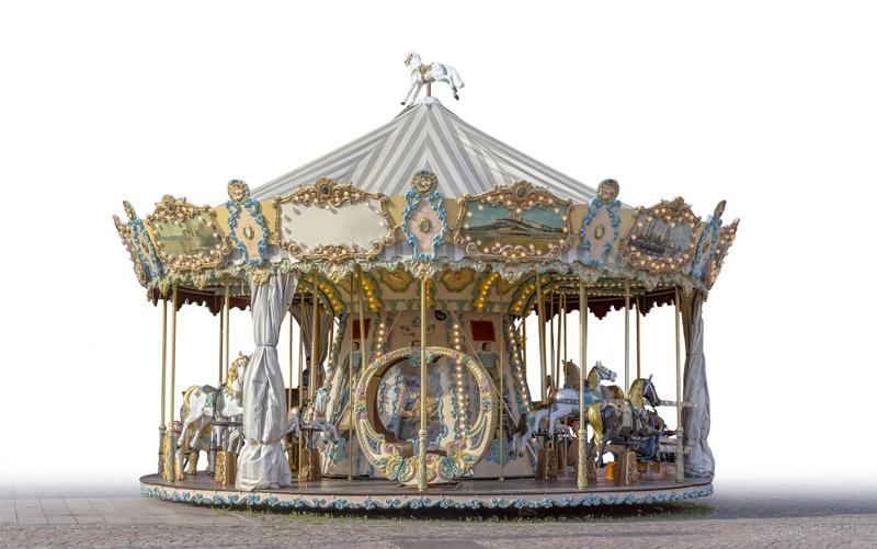 Carousel 旋转木马插图