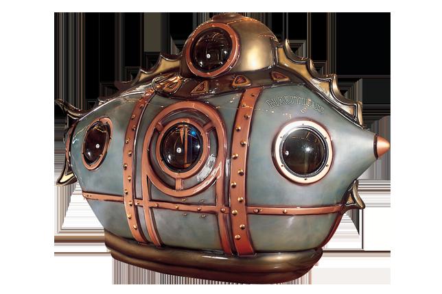 儒勒凡尔纳潜水艇