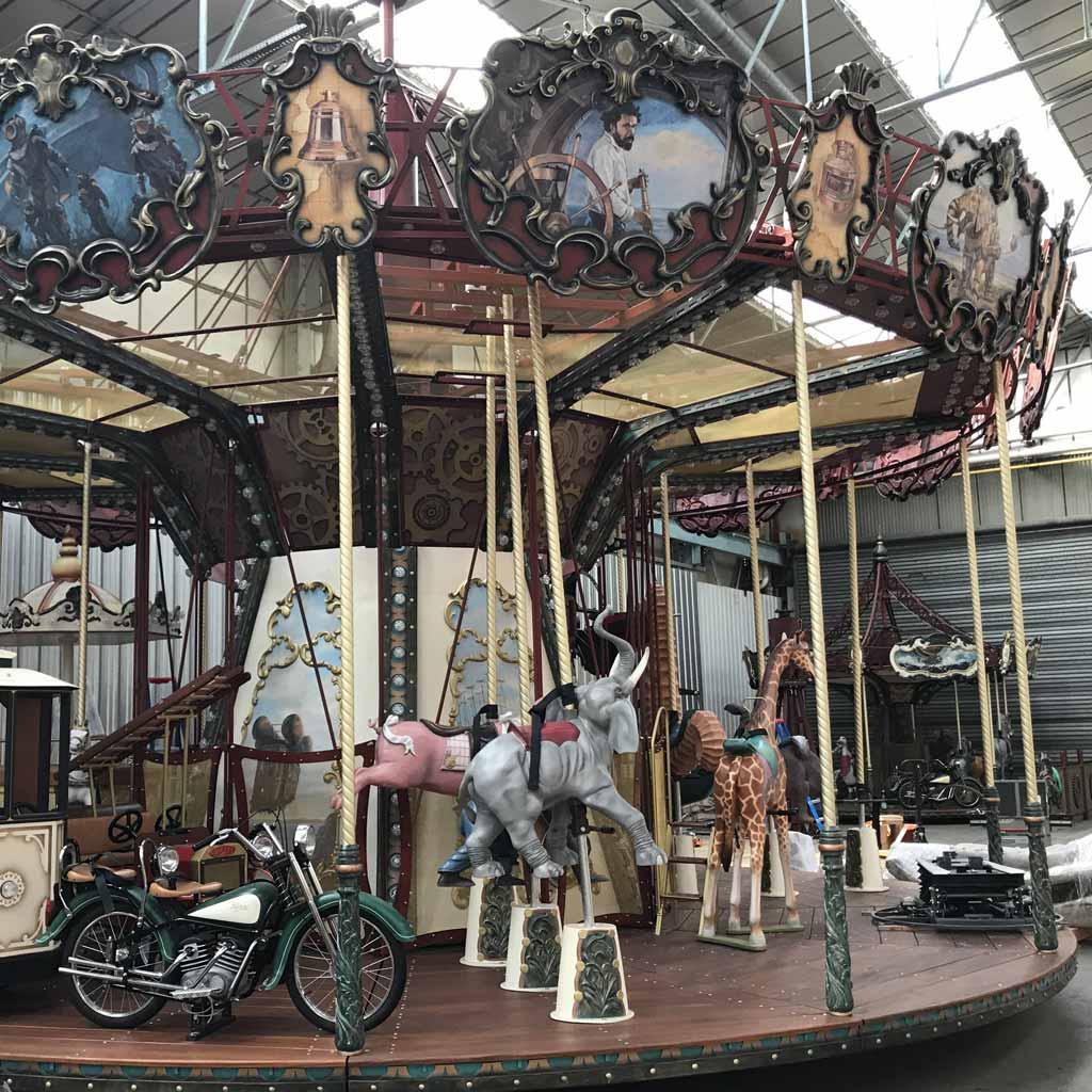 Jules Verne Carousel 儒勒凡尔纳旋转木马插图29