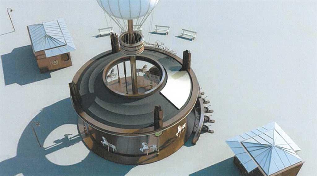 Aerousel  热气球转马插图(8)