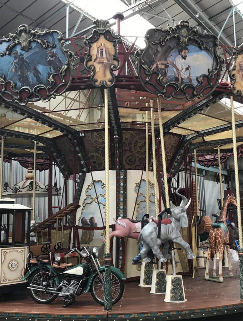 Jules Verne Carousel 儒勒凡尔纳旋转木马插图22