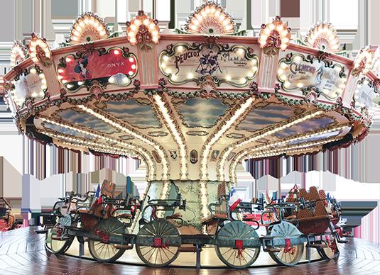 Velocipede Ride 自行车转马插图
